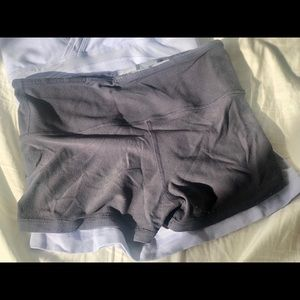 Reversible Grey Lululemon Boogie Shorts